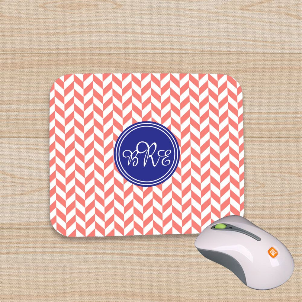 monogram mousepad personalized mousepads custom mousepads monogram