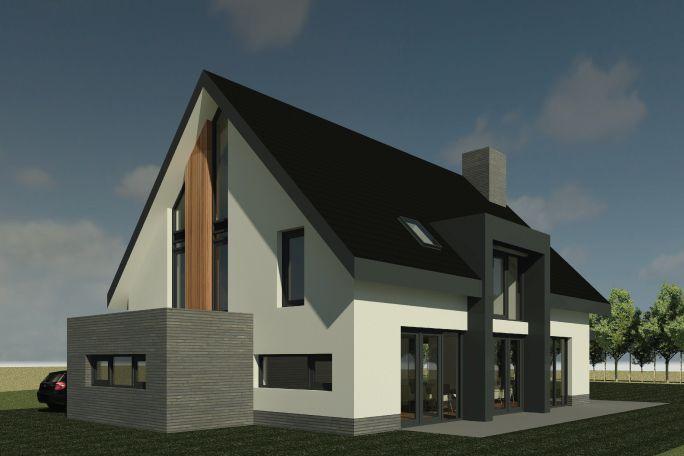 Nieuwbouwwoning gerner marke dalfsen ontwerp van al for Huis ontwerpen