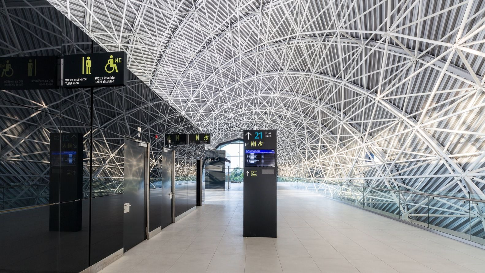 Architecture Zagreb International Airport Croatia 1582 890 Zagreb Architecture Building