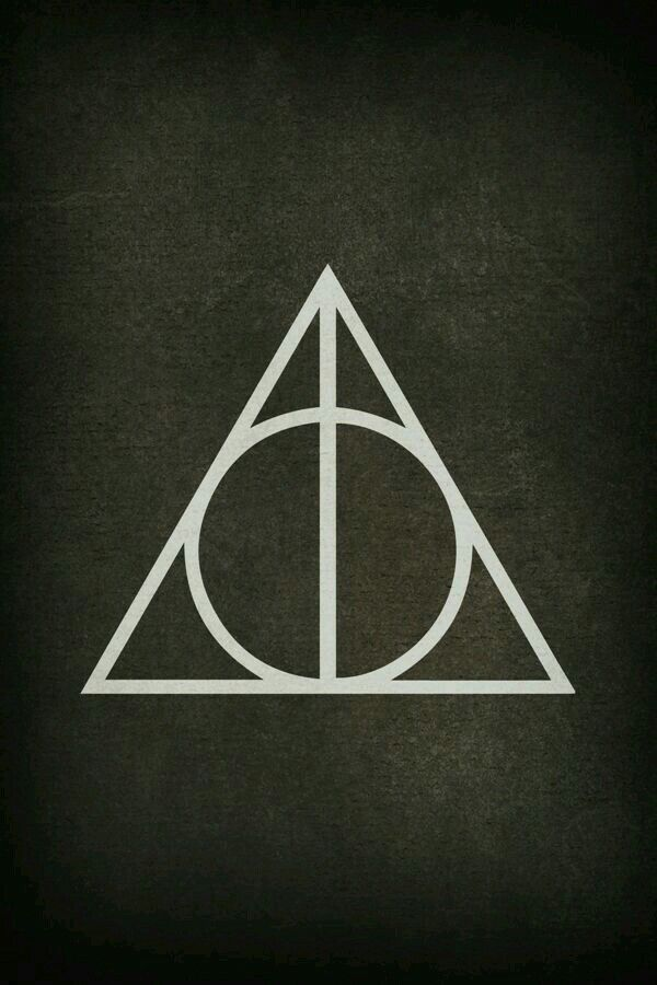 the deathly hallows symbol harry potter pinterest harry potter