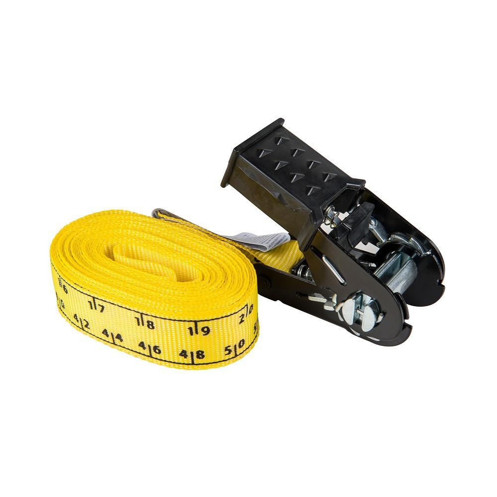 Keeper 16 Ft X 1 1 4 In X 600 Lbs Endless Loop Ratchet Tie Down Yellow Products Tie Ratchet Rope Tying