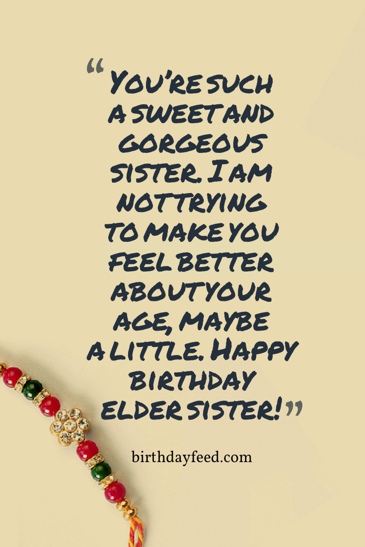 Amazing Happy Birthday Wishes to My Lovely Sister Wish 14