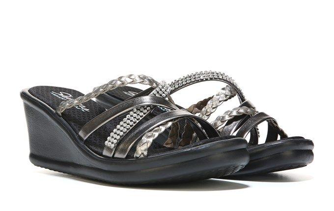1fb87496e7bd Skechers Women s Rumblers Wild Child Wedge Sandal