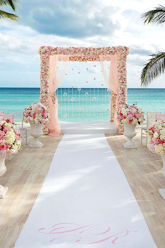 Gorgeous Beach Wedding Decoration Ideas See More Http Www Weddingforward