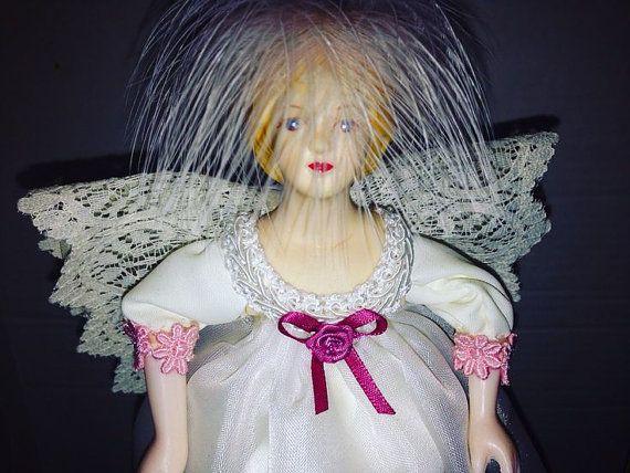 Blond Angel Doll Wedding Gown Bride or by CreativeAndFandom