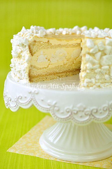 Zitronen Baiser Torte Backen Pinterest Cake Kuchen Und Desserts