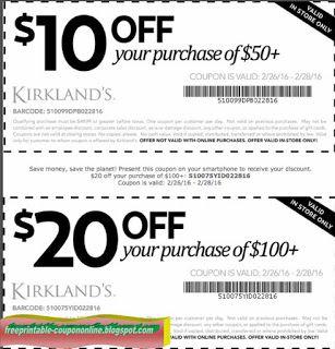 Free Printable Kirklands Coupons Coupons Free Printable Coupons Printable Coupons