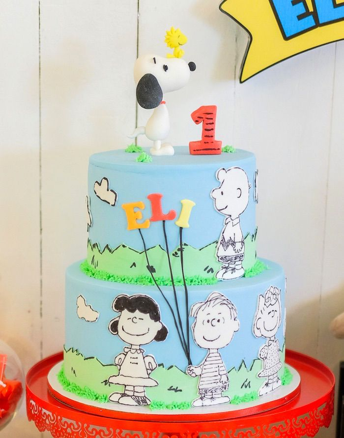 Peanuts Snoopy Birthday Party Gender Neutral Party Ideas By