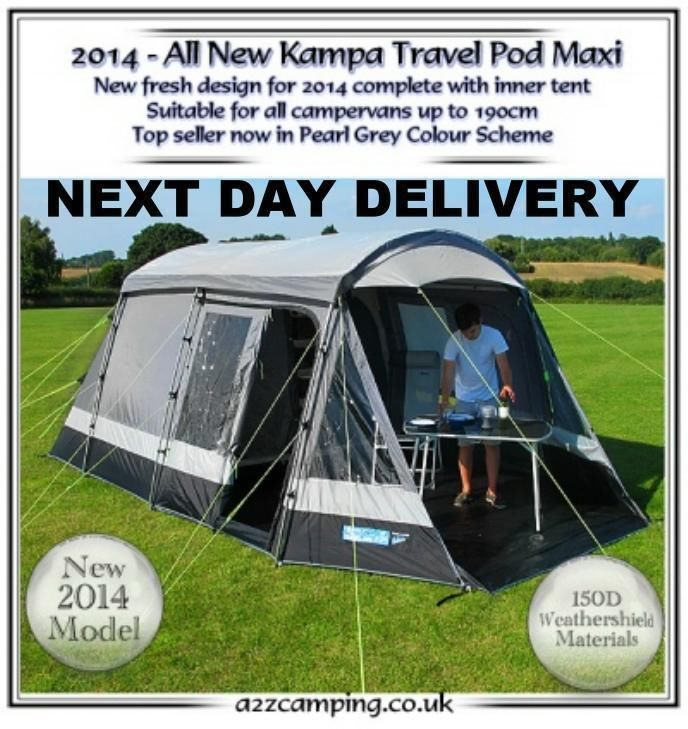 New 2014 Kampa Pod Maxi Free Standing Drive Away Stand