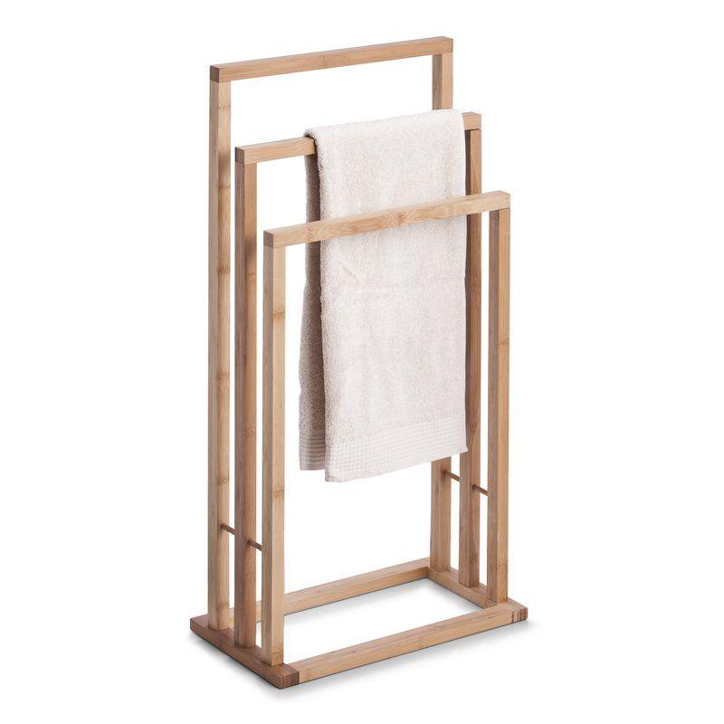 Ikea Handtuchständer freistehender handtuchständer aus bambus 42x24x81 5h 34 99