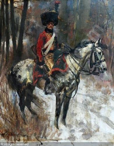 Cacciatore a cavallo della guardia imperiale francese - Wojceich Kossack