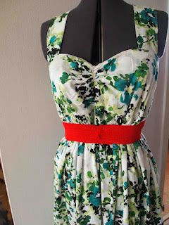 hope to wear this pretty summer dress...