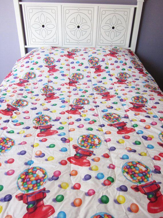 Lisa Frank Gumball Machine Twin Comforter By NostalgiaMama