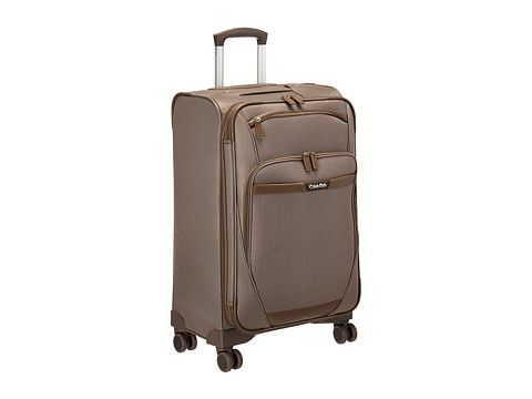 """CALVIN KLEIN Whitehall 24"""" Upright Suitcase. #calvinklein #bags #travel bags #polyester #suitcase #"""