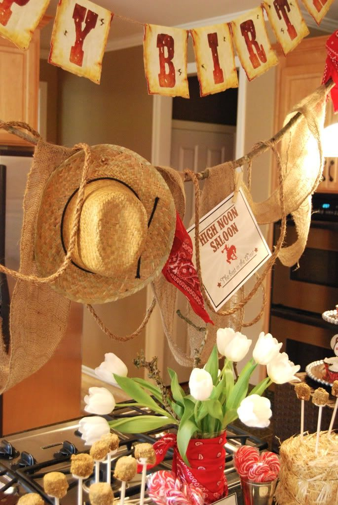 Cowboy And Cowgirl Party Part 2 Cowboy Birthday Party Cowgirl Party Western Birthday Party