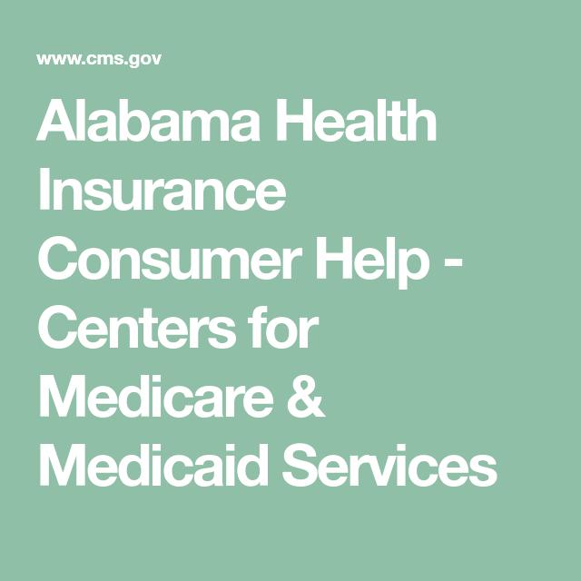Alabama Health Insurance Consumer Help Centers For Medicare