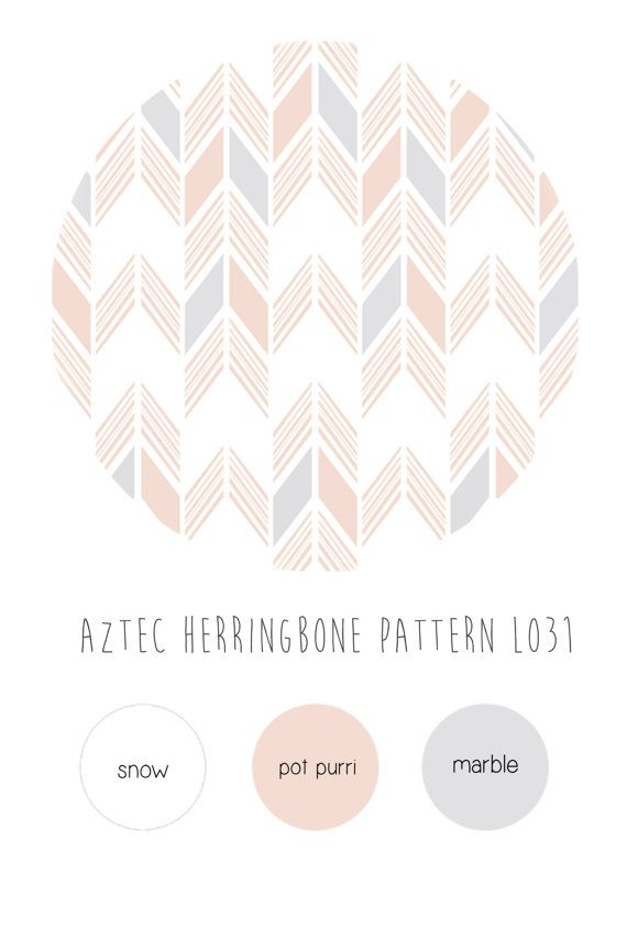 Pink Herringbone Nursery Wallpaper Bohemian Baby Room Etsy Nursery Wallpaper Herringbone Wallpaper Fabric Wallpaper