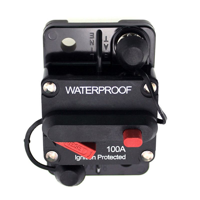 100 Amp Circuit Breaker Marine Rated Power with Manual Reset ...