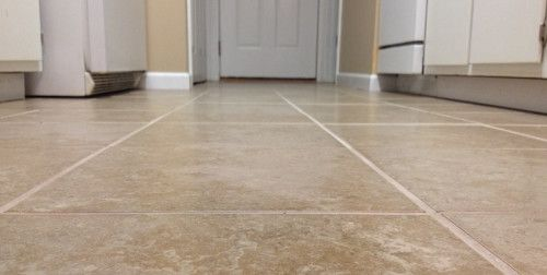 Tiling the kitchen floor do it yourself projects pinterest tiling the kitchen floor solutioingenieria Choice Image