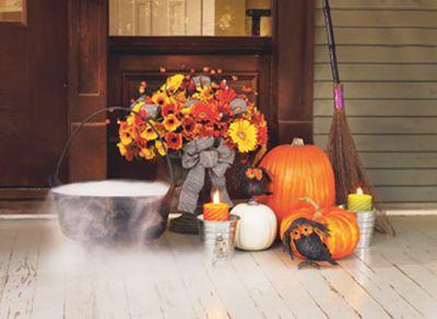 #Halloween Candy Corn Arrangement #MichaelsStores