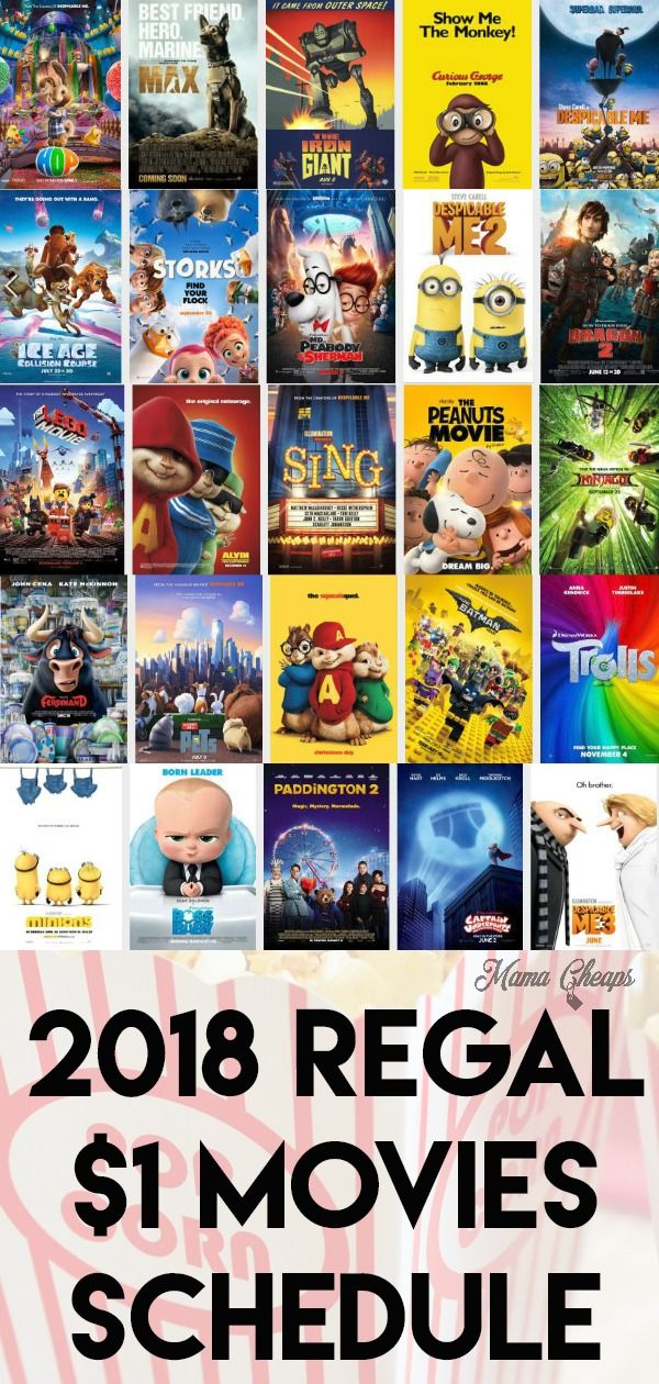 2020 Regal Cinemas 1 Summer Movies Schedule Movie