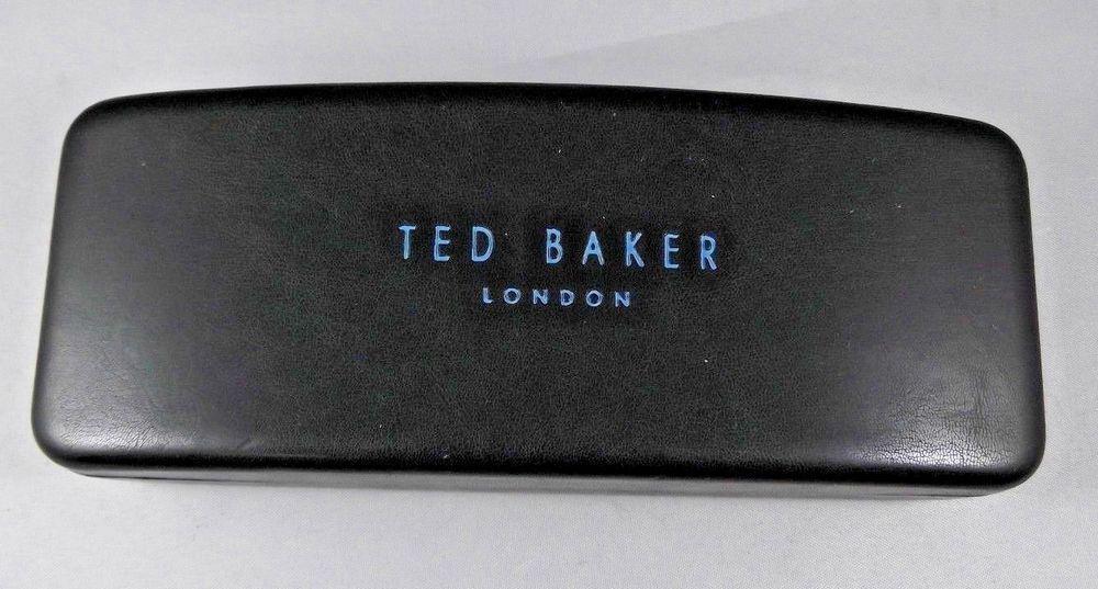 half off 91276 9a0ac Ted Baker Eyeglasses Glasses Case Sunglasses Case Black #TedBaker ...