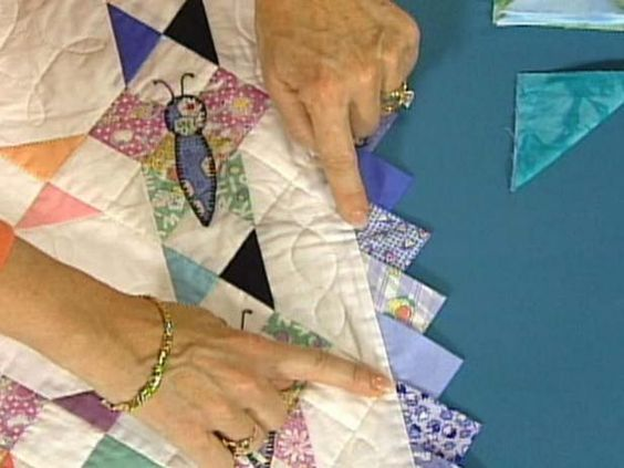 Prairie Point Quilting Borders 101 Hgtv Quilt Border And Paper