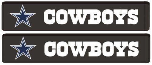 seat belt shoulder pads nfl football dallas cowboys pair fremont die consumer products http www amazon com dp b0 dallas cowboys cowboys seat belt pads pinterest