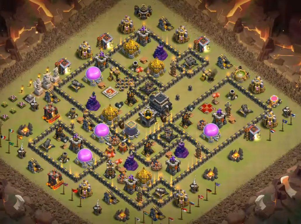 Anti Everything Best Th9 War Base Base Th 9 8