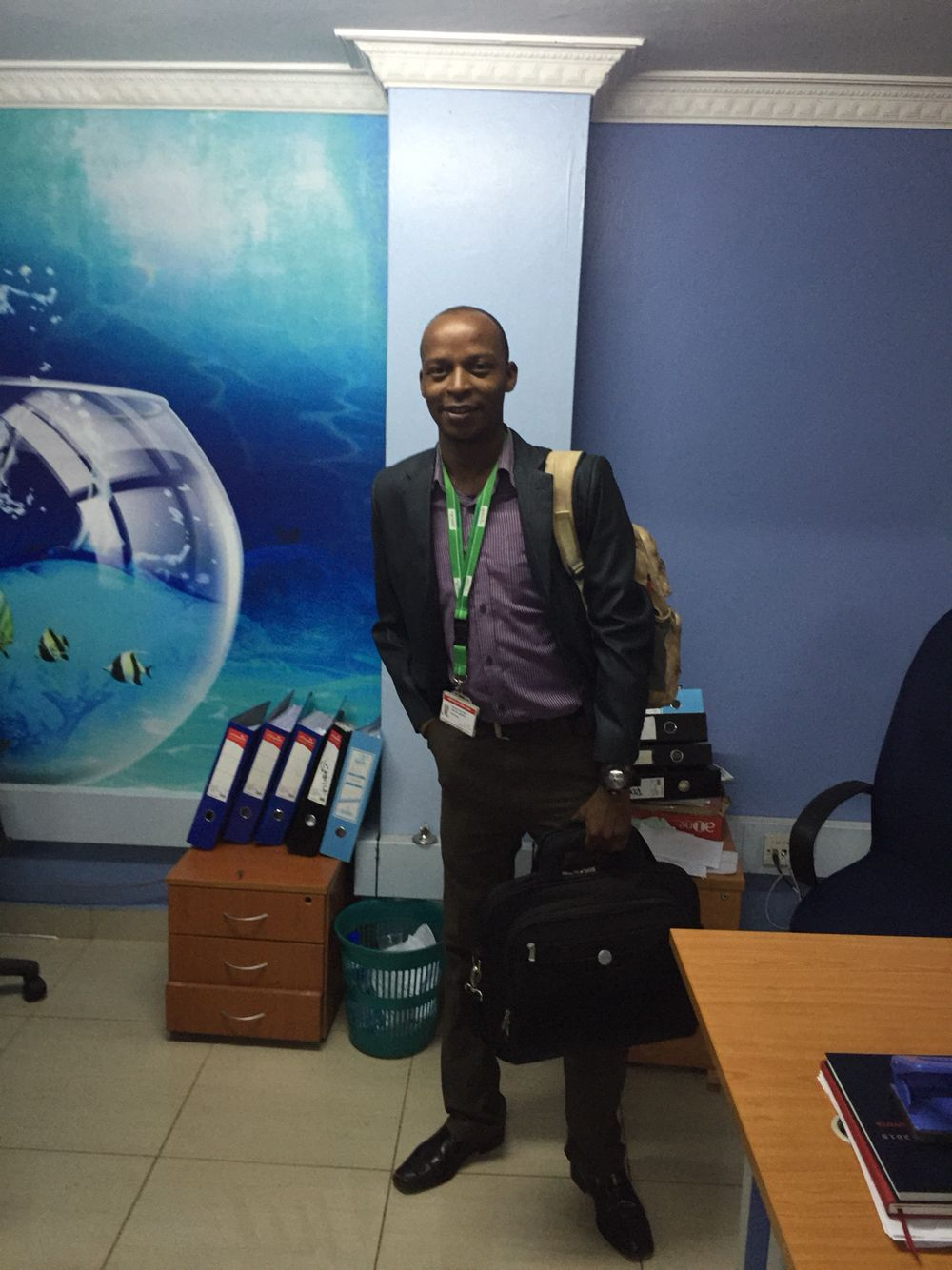 A pose moment after flipping oracle 12g & looking forward for an educative LTE 4G training