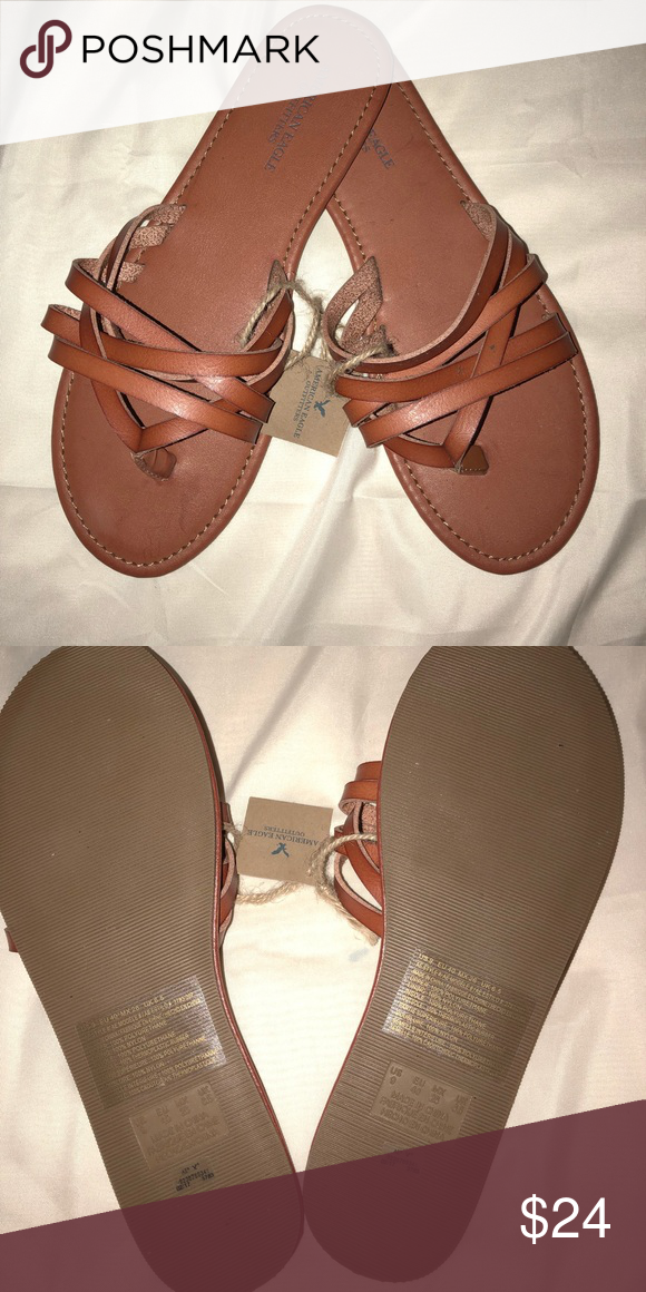 8680c59f4ce0 American Eagle Sandals Brown color