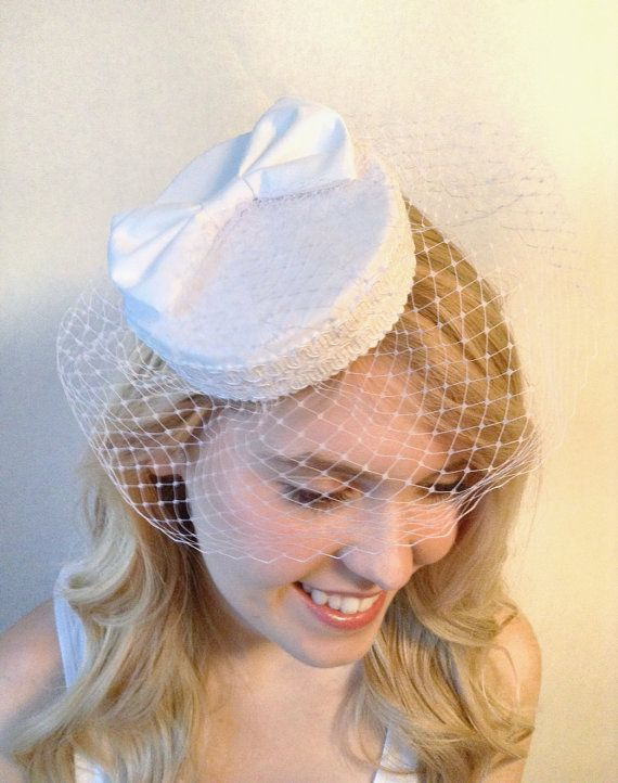 0e34bd9099e Diy Pillbox Hat Pillbox Hat With Veil Wedding