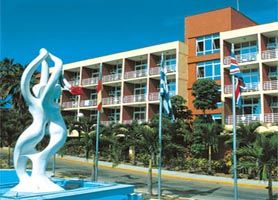 Hotel Club Atlantico Havana Is An All Inclusive 3 Star Resort Located On The Fine White Sands Of Havanas Famous Eastern Beaches Known As Santa Maria Del