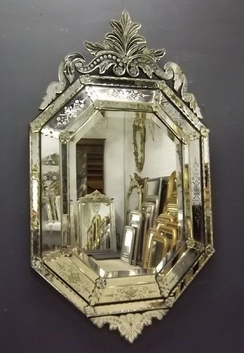 Venetian Mirrors Mirrors And Chandeliers Antique Mirror Vintage Mirrors