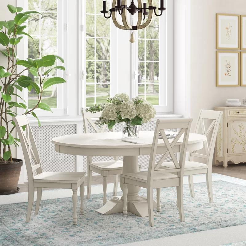 Ophelia Co Eminence 5 Piece Extendable Dining Set Reviews Wayfair