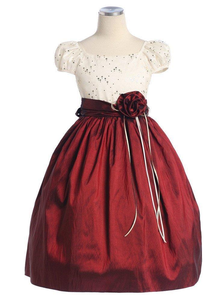 2788b6730fc76 Fotos de vestidos de niñas para navidad