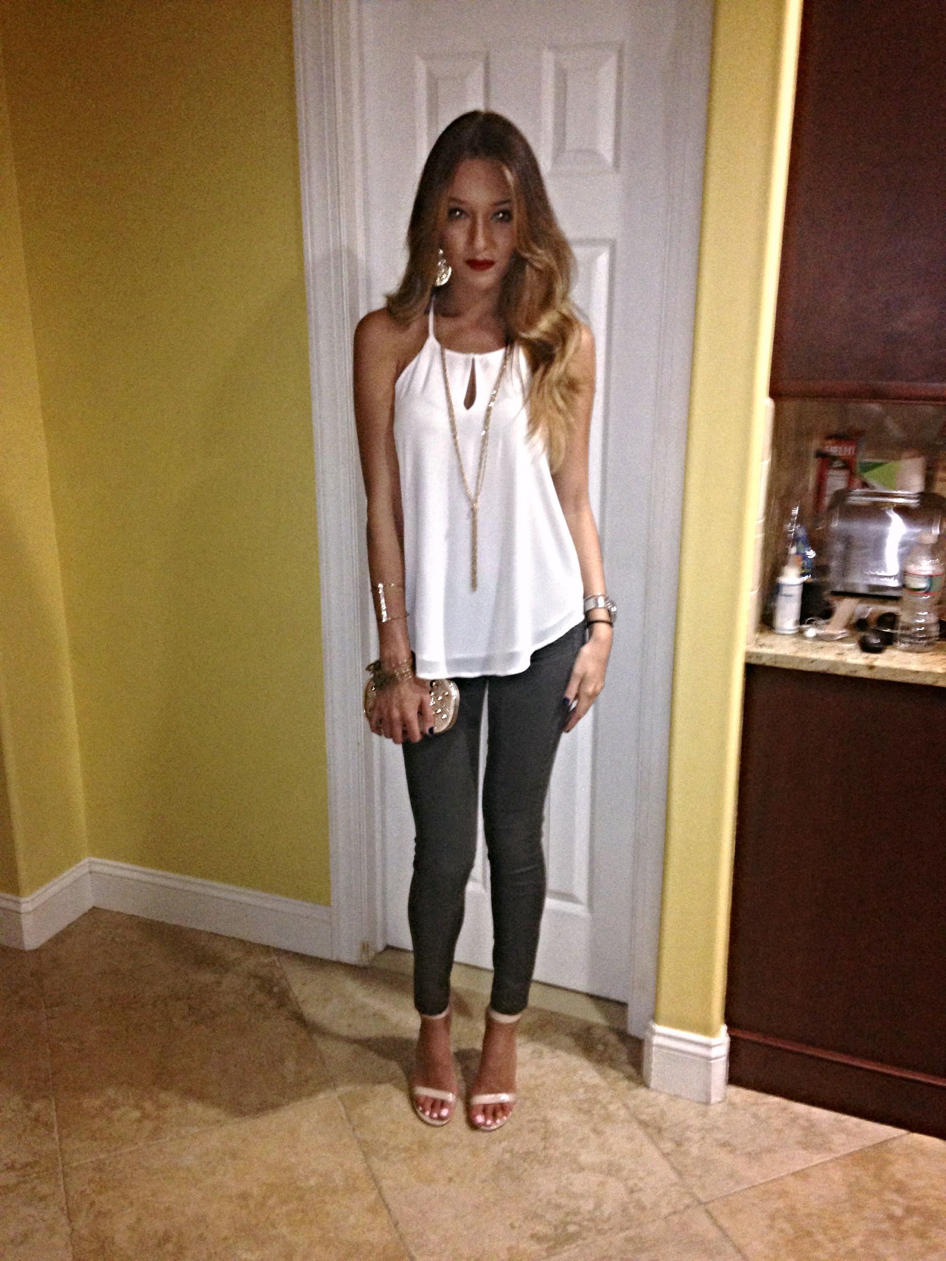 Casual summer night outfit for dinner in NYC  Summer night outfit