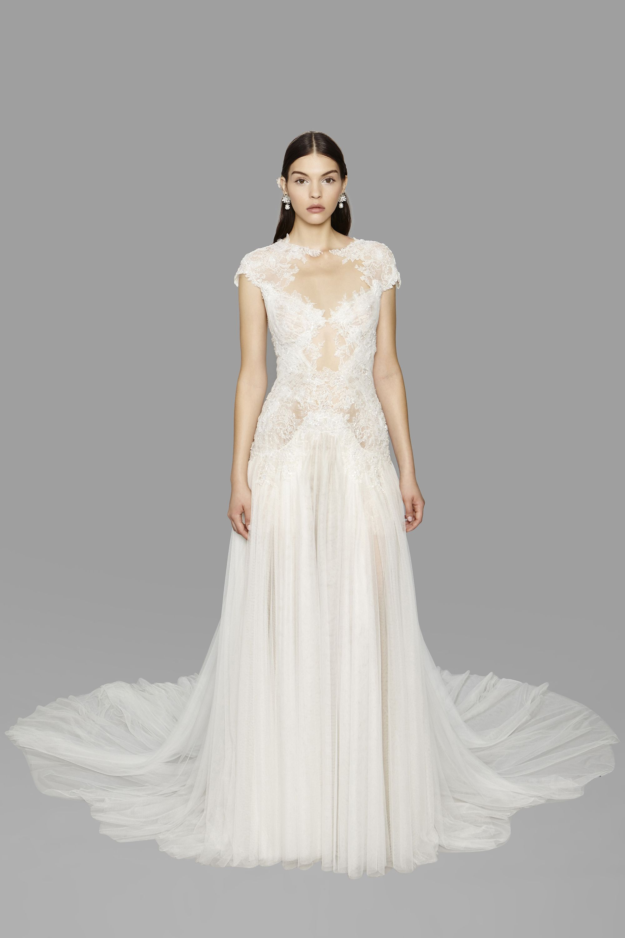 Mother of the bride beach dresses for weddings  See Every Look From Marchesa Bridal Fall   Marchesa bridal