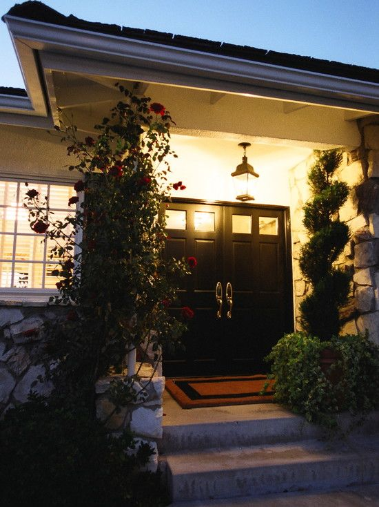 Entry Double Front Doors Design Pictures Remodel Decor And Ideas