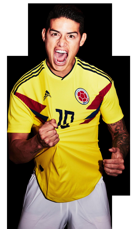 James Rodriguez Rinde James Rodriguez James Rodriguez Colombia James Rodrigues