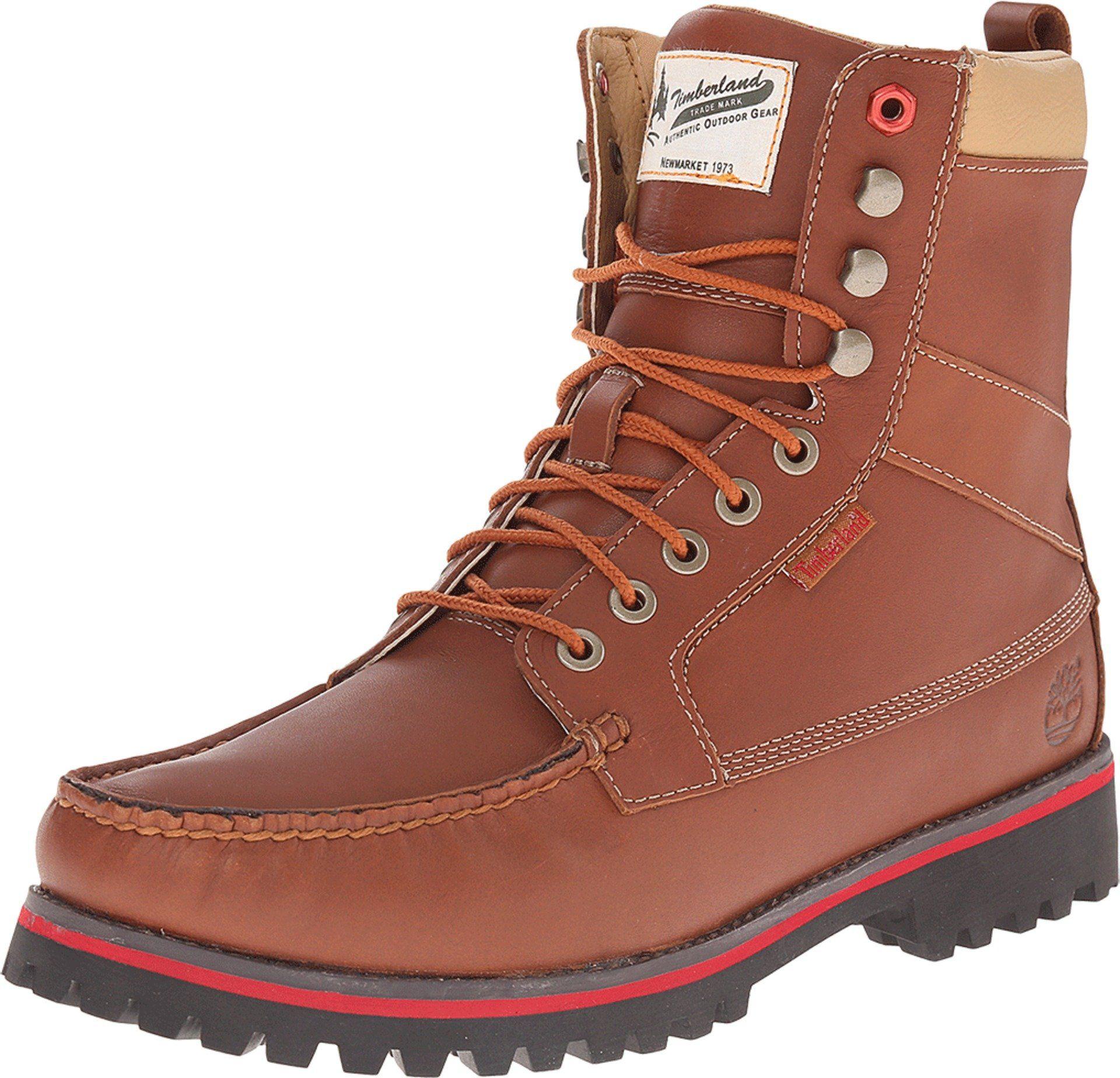 Timberland Boot Company Men's 9 Eye Moc Toe Boot Light Brown Boot 11 D (M