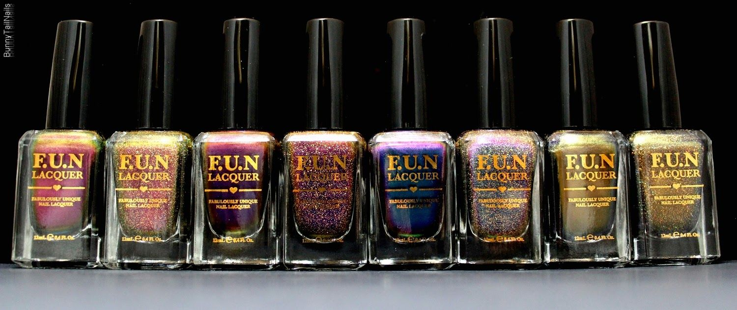 BunnyTailNails: F.U.N Lacquer - The Love 2015 Collection