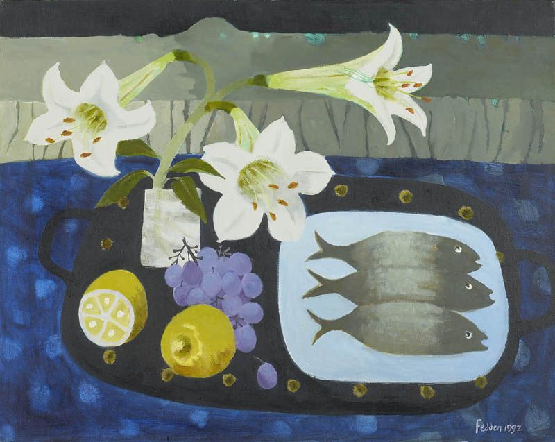 Mary Fedden   The Fish