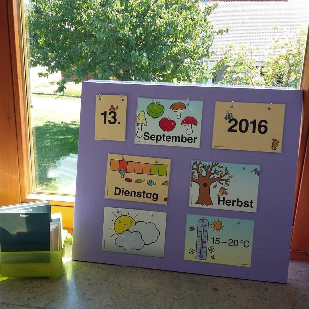 """Grundschullehrerin in Bayern � on Instagram: """"Kalender in meiner Klasse � die Karten stammen vom #verlaganderruhr #grundschule #grundschullehramt #grundschulideen"""""""