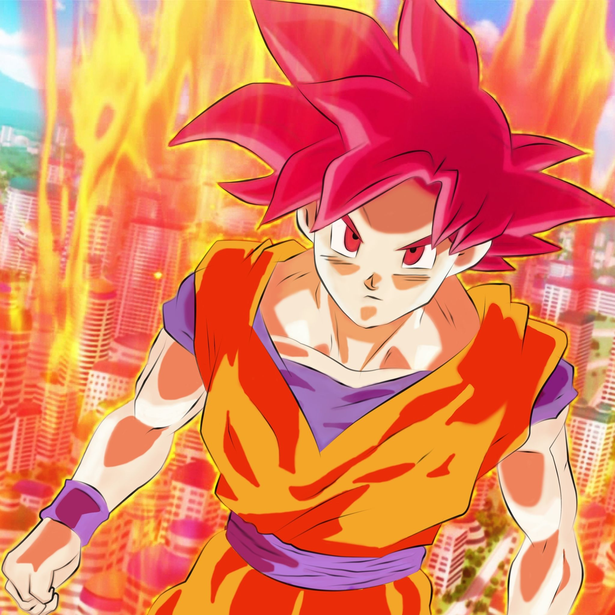 Angry Goku Tap to see more awesomely cool Dragon Ball Z