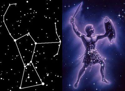 El Mito de Orión - Constelación de Orión | Constelacion de orion ...