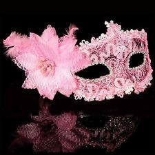 Hot Stylish Halloween Masquerade Dance Fancy Ball Flower Lace Flamboyant Mask