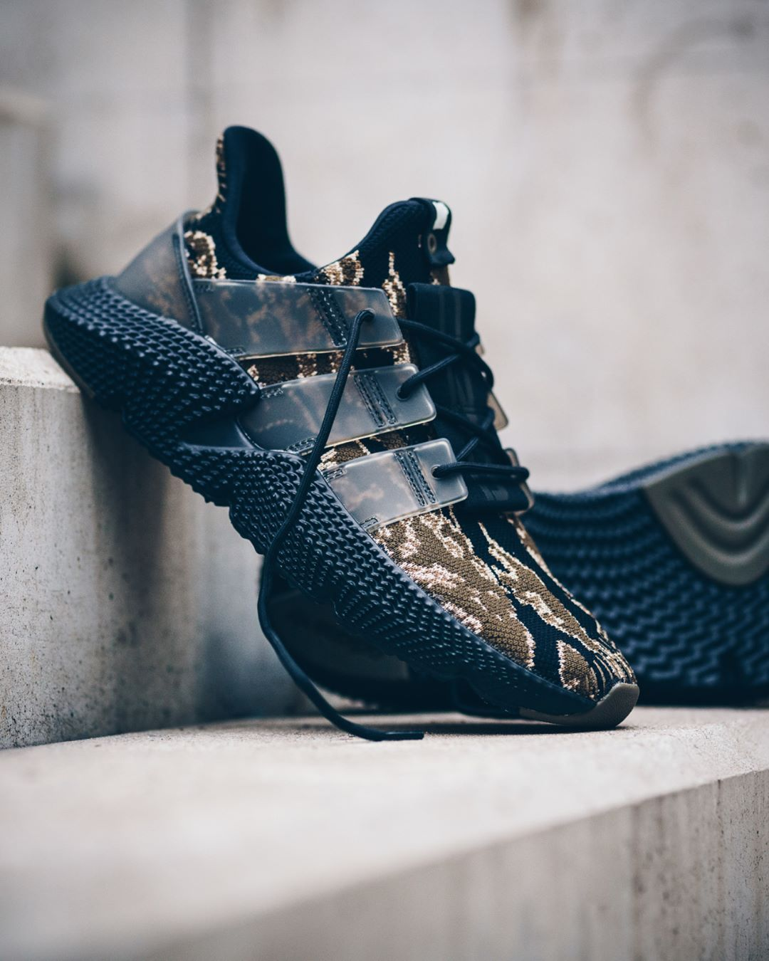 ab58a457442ca3 UNDFTD x Adidas Prophere Camo   Black Credit   Solebox Latest Sneakers