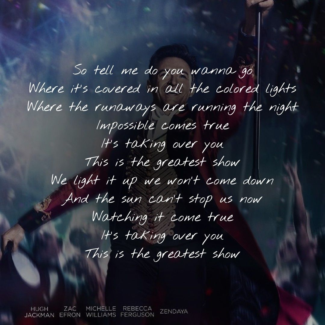 Lyrics to greatest hits
