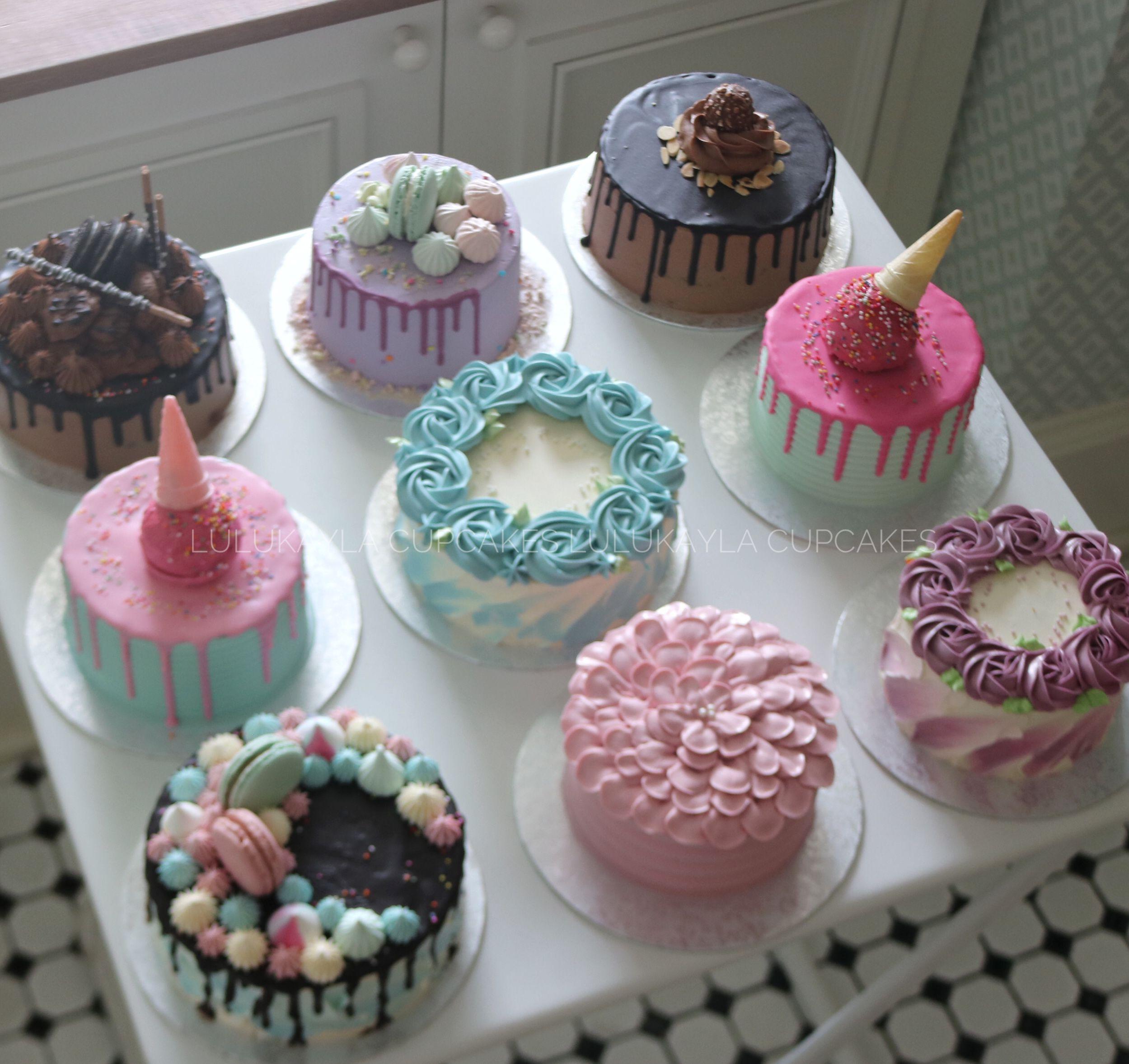 Buttercream Cake With Images Mini Cakes Birthday Cake